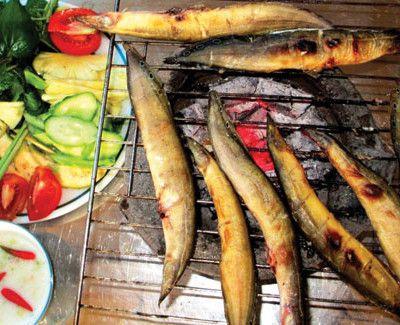 Cá chạch nướng muối ớt