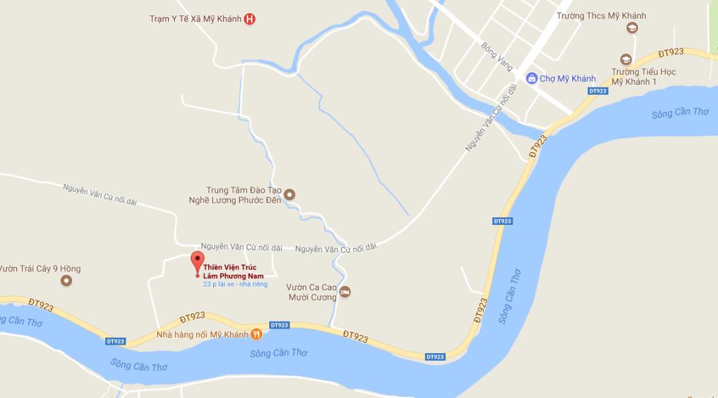Thiền Viện Trúc Lâm Phương Nam - Google Maps