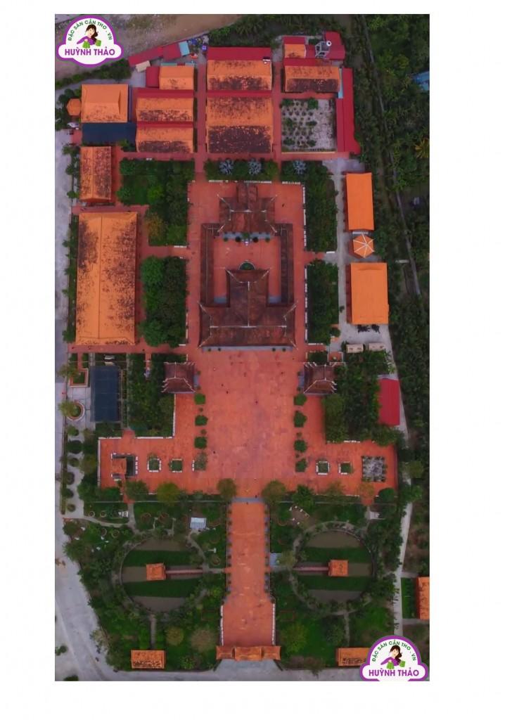 Bản Đồ Thiền Viện Trúc Lâm Phương Nam