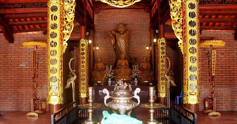 Điện Di Lạc trong Chánh Điện Thiền Viện Trúc Lâm Phương Nam