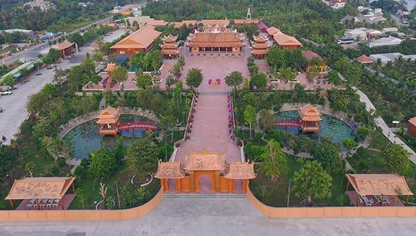 Kiến Trúc Thiền Viện Trúc Lâm Phương Nam